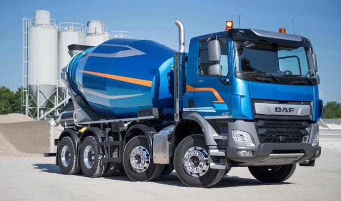 El DAF CF Construction obtiene el Top Bau Truck en Eslovaquia