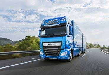 DAF presenta nuevos 'packs' de activos para los camiones CF y XF
