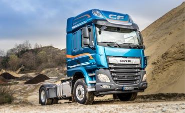 DAF CF y XF ahora disponibles con tracción delantera conmutable