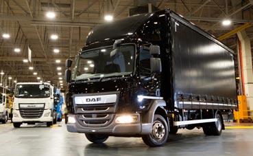 Leyland produce el camión DAF número 10.000