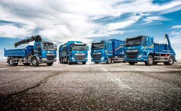 Ventas positivas de vehículos pesados para DAF durante 2019