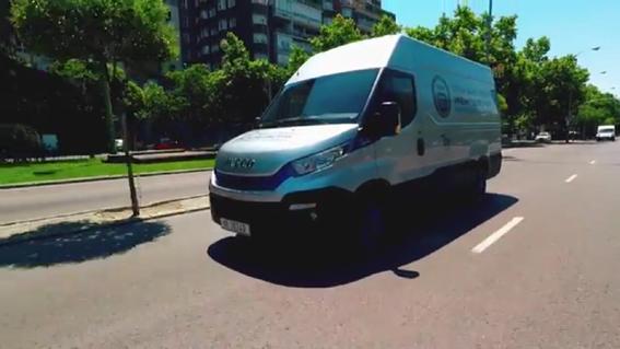 La gama Daily Blue Power de Iveco gana el premio International Van of the Year 2018