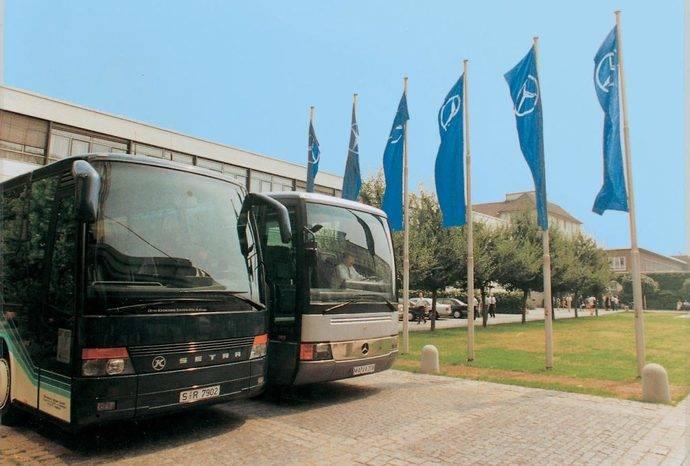 Mercedes-Benz y Setra, 25 años de fabricación de autobuses