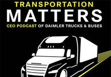 Daimler lanza el primer podcast de 'Transportation Matters'