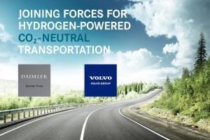 Nueva empresa conjunta de pilas de combustible de Daimler Truck AG y Volvo Group: Cellcentric