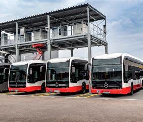 Daimler buses va un paso más allá en términos de E-Mobility