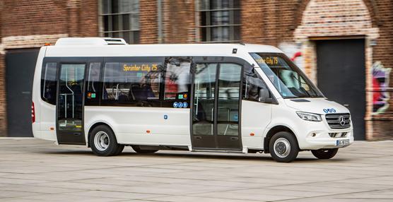 El nuevo minibus de Mercedes basado en la Sprinter City 75