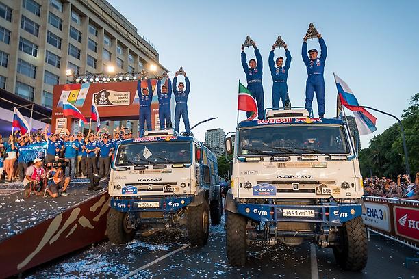 Kamaz gana el Dakar y la Eco Race con neumáticos Continental