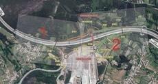 Nuevo enlace en la AP-9 que dará acceso a Santiago de Compostela