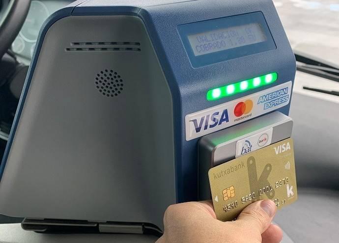Dbus extiende el pago con tarjeta a todas sus líneas