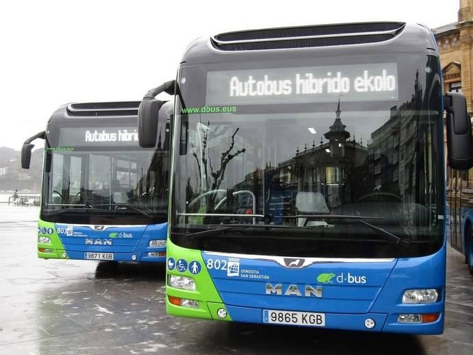 San Sebastián incorpora 14 modelos híbridos