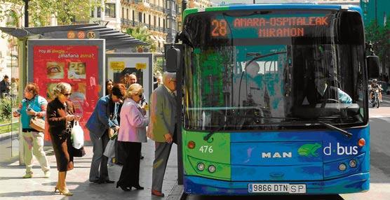 Gran utilización de los autobuses de Dbus en la inauguración de San Sebastian 2016