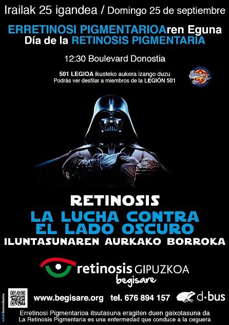 Dbus se suma al día mundial de la retinosis pigmentaria
