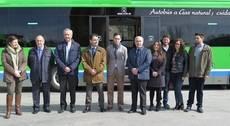 Presentación de los autobuses en Villarejo de Salvanés