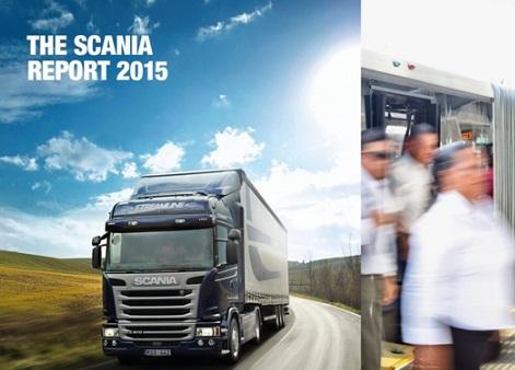 Scania publica su Informe anual de Sostenibilidad 2015