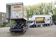 Thermo King proporciona refrigeración al innovador camión de catering de DHL