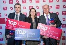 DHL reconocida por quinto año como Top Employer