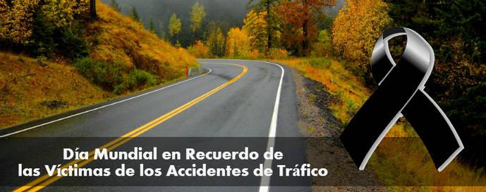 Conmemoración por víctimas de accidentes viales