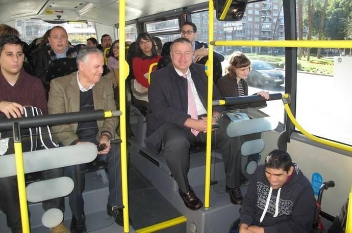 Ayudas para discapacitados en el transporte público de Murcia