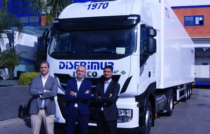 Disfrimur apuesta por el Iveco Stralis NP, un camión de gas natural revolucionario