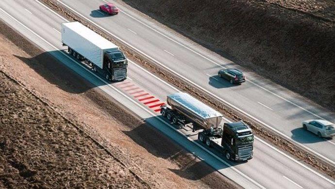 Volvo Trucks ayuda a los conductores a mantener la distancia