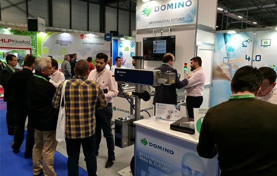 Domino anticipa la tecnología del futuro para la industria 4.0 en Empack 2019