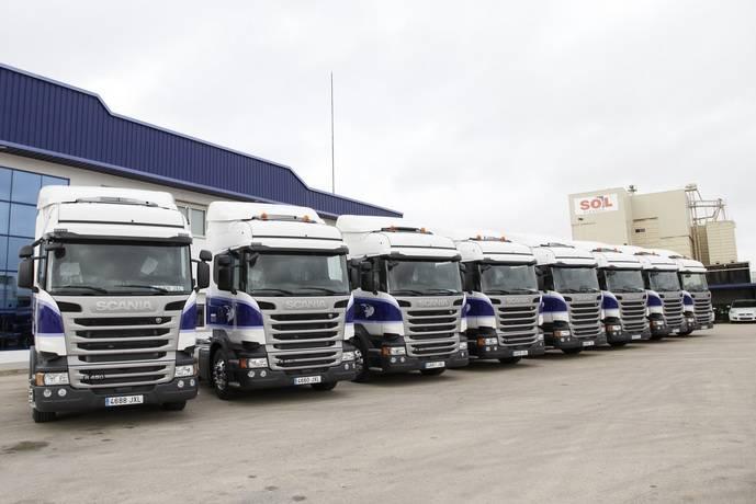 La empresa Pañalón incluye diez unidades Scania a su flota