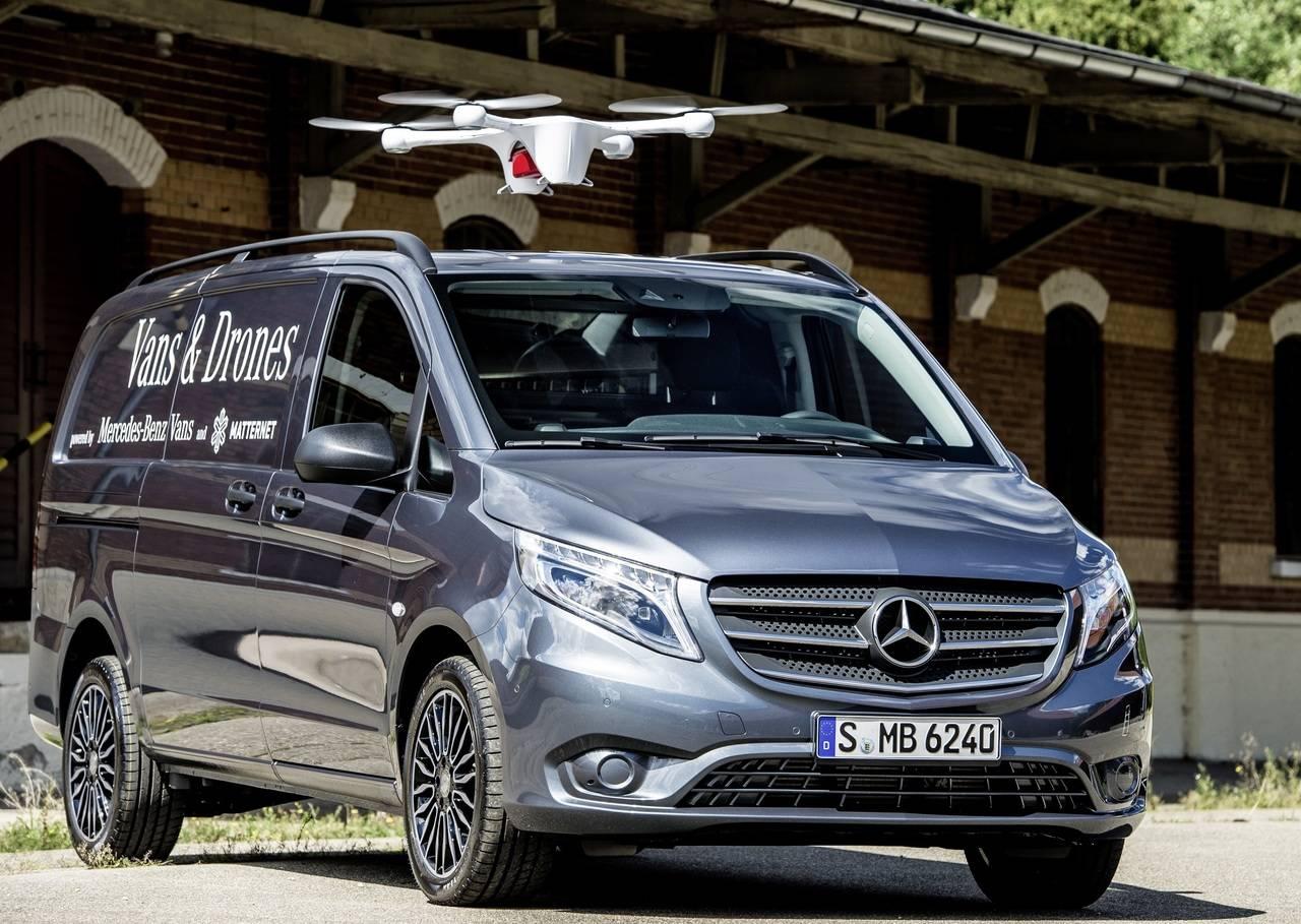 Las soluciones de innovación de la estrategía adVANce de Mercedes Benz Vans