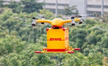 DHL Express lanza su primer servicio de entrega con drones urbanos