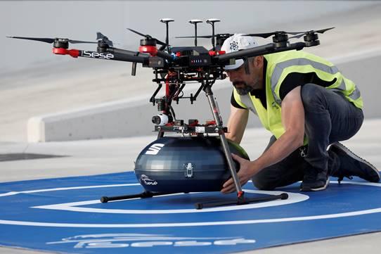 Grupo Sesé y Seat usan drones para suministro de componentes