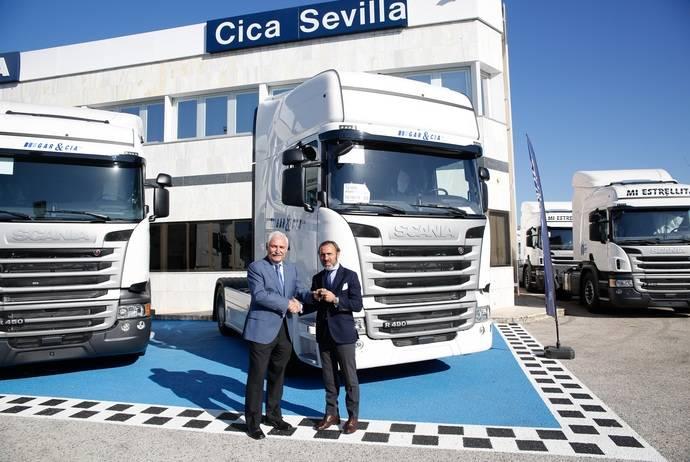 Transportes GAR&CIA incorpora 20 unidades Scania a su flota