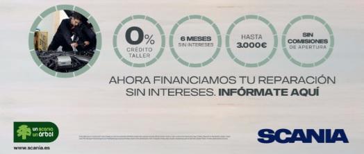 Scania lanza una campaña de financiación
