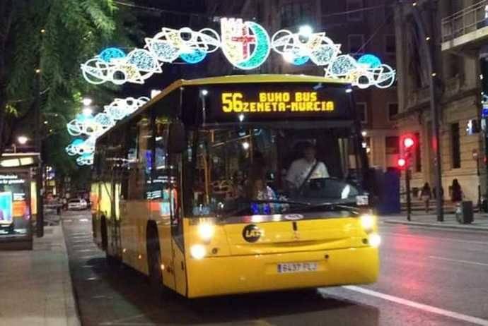 Se garantiza el servicio de autobús a 22 pedanías de la ciudad de Murcia