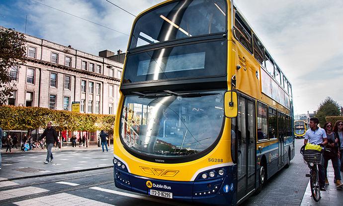 Dublín presenta tres nuevos autobuses de pila de combustible de hidrógeno