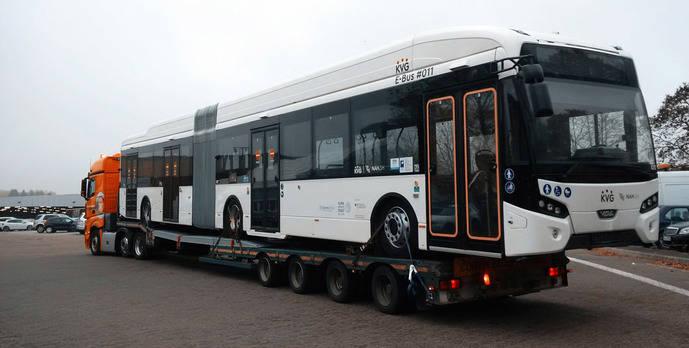 Kiel apuesta por VDL: nuevo lote de 31 autobuses eléctricos