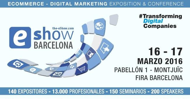 MRW estará presente enla feria eShow Barcelona 2016