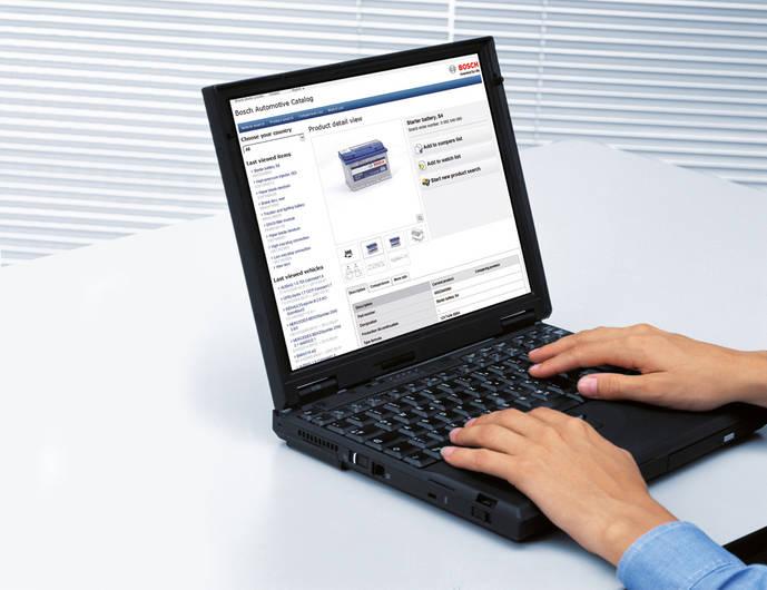 Bosch eCat-online mejora su diseño para los diferentes dispositivos