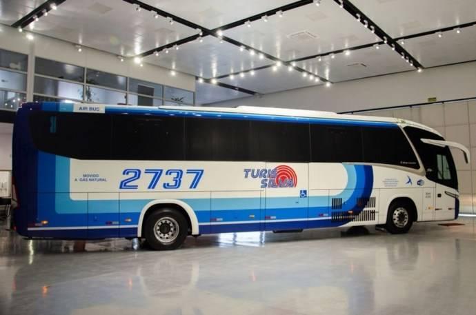 Scania y Marcopolo lanzan el primer autobús a gas en Brasil