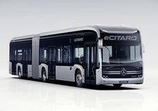 El Mercedes eCitaro G articulado llegará al mercado durante el próximo año 2020