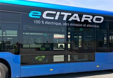 TMB prueba la versión eléctrica del Citaro estándar de Mercedes Benz