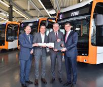 Autobuses eléctricos de Mercedes para Mannheim y Heidelberg