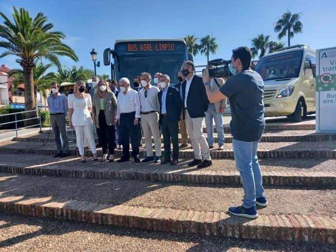 Purificación de aire Hispacold en todos los autobuses de Sevilla