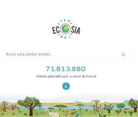 DB Schenker apuesta por Ecosia, la alternativa verde a Google