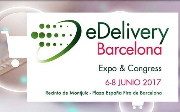 Cartel de eDelivery Barcelona Expo & Congress.