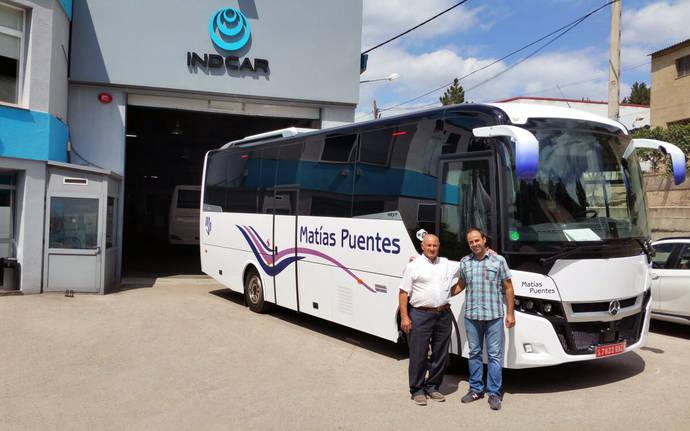 Autocares Matías Puentes incorpora un Indcar Next L9