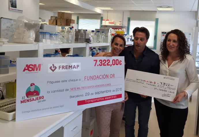 ASM cierra su última campaña de recogida de tapones con más de 14.000 euros recaudados