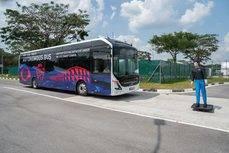 Primer autobús eléctrico autónomo de 12 metros