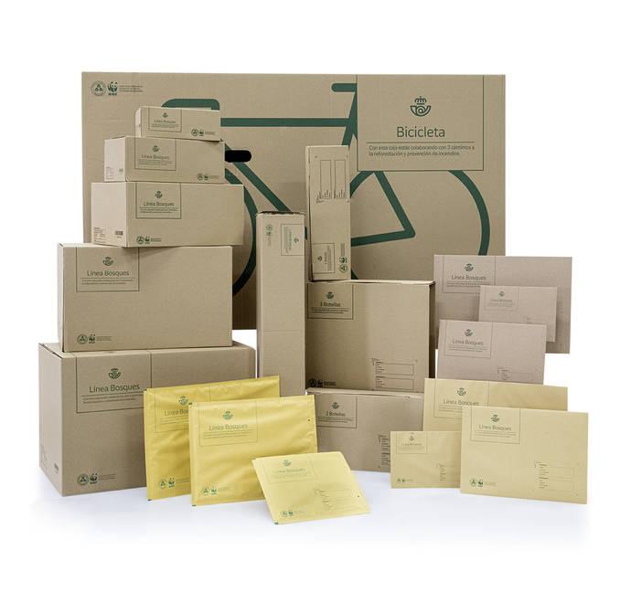 Correos pone en marcha su nueva línea de embalajes sostenibles