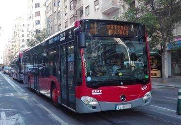 Llegan los nuevos híbridos de la línea 11 de la EMT de Valencia