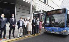 Primer piloto de bus a demanda entre el 12 de Octubre e Infanta Leonor